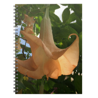 Angel Trumpet Spiral Notebook