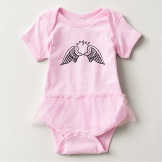 Angel tutu bodysuit