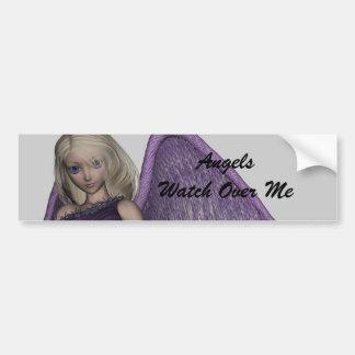 Angel Violet Charms Bumper Sticker