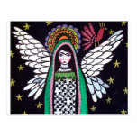 Angel Virgin of Guadalupe Art by Heather Galler Post Card