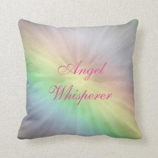 Angel Whisperer design Throw Pillow