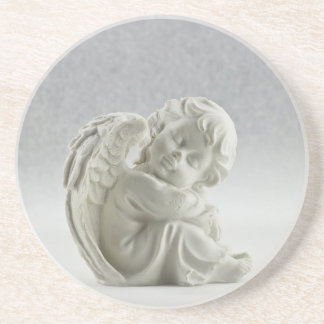 Angel White Heaven Wing Beautiful Coaster