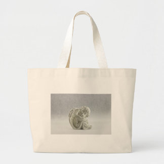 Angel White Heaven Wing Beautiful Large Tote Bag