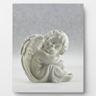 Angel White Heaven Wing Beautiful Plaque