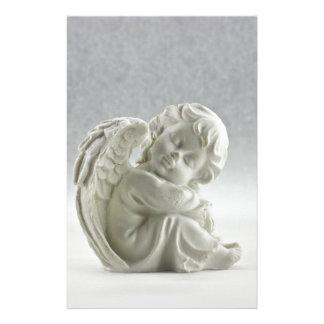 Angel White Heaven Wing Beautiful Stationery