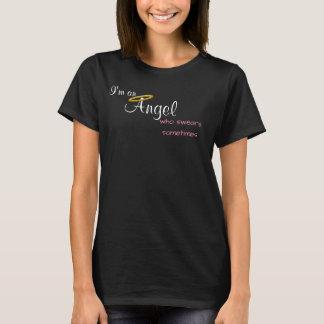 Angel Who Swears Sometimes short sleeve T-Shirt