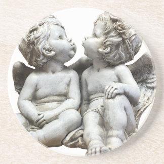 Angel Wing Fairytale Feelings Female Statue Love Coaster