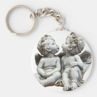 Angel Wing Fairytale Feelings Female Statue Love Keychain