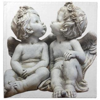 Angel Wing Fairytale Feelings Female Statue Love Napkin