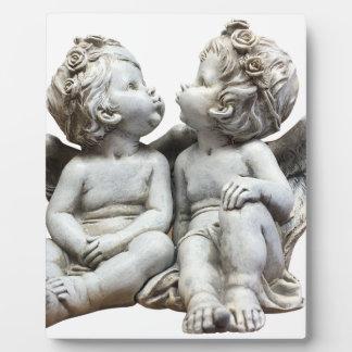 Angel Wing Fairytale Feelings Female Statue Love Plaque