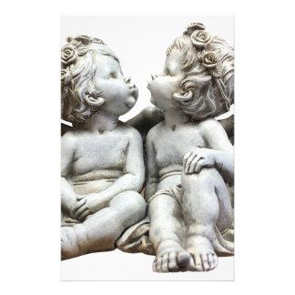 Angel Wing Fairytale Feelings Female Statue Love Stationery