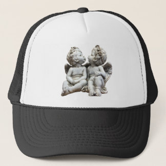 Angel Wing Fairytale Feelings Female Statue Love Trucker Hat