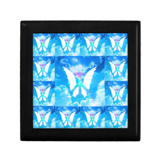 Angel Wing Peace Pattern Gift Box