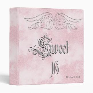 Angel Wing Sweet 16 Birthday Photo Album 3 Ring Binder