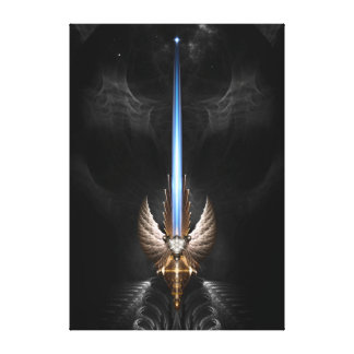 Angel Wing Sword Of Arkledious DGS Canvas Print