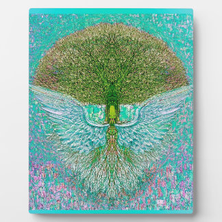 Angel Wing Tree of Life Plaque