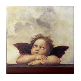 ANGEL / Winged Cherub Tile