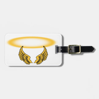 Angel Wings and Halos Customize Luggage Tag