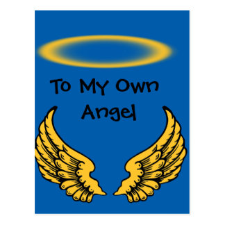 Angel Wings and Halos Customize Postcard