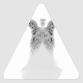 Angel Wings and Light Triangle Sticker