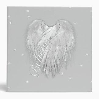 ANGEL WINGS 'Believe' Magic Heart 3 Ring Binder
