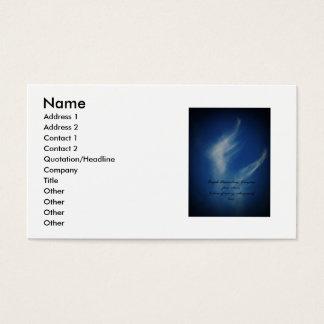 Angel Wings Business Card