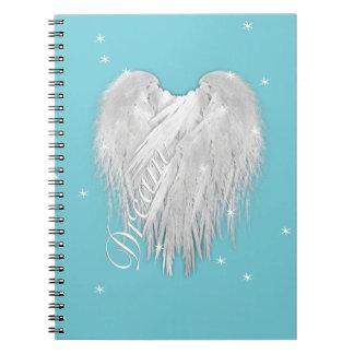 ANGEL WINGS 'Dream' Magic Heart Notebook