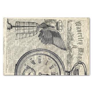 Angel Wings Ephemera Collage Tissue Paper