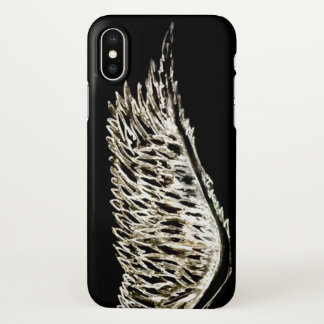 Angel wings hand drawn art iphone x style case