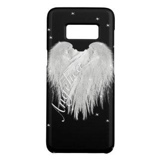 ANGEL WINGS Heart Black Starry Night Case-Mate Samsung Galaxy S8 Case