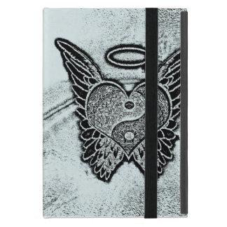 Angel Wings, Heart, Yin Yang Covers For iPad Mini
