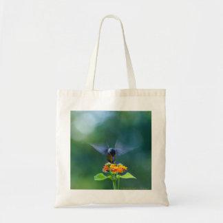 Angel Wings Hummingbird Tote Bag