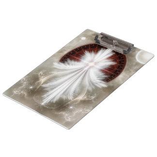 Angel Wings Snowflake Clipboard