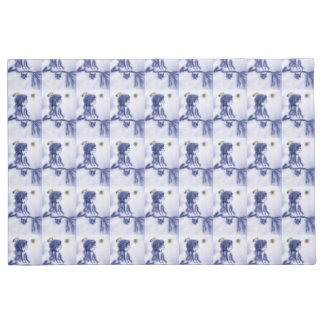 Angel Wishing On A Star - Blue Tint Doormat