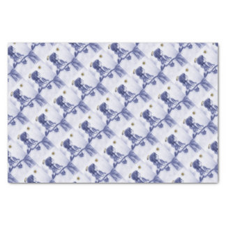 Angel Wishing On A Star - Blue Tint Tissue Paper