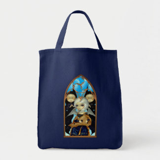 Angel with a Psaltery BAG gothic renaissance