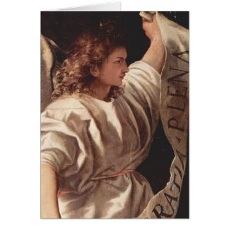 Angel with Banner 1522 Card