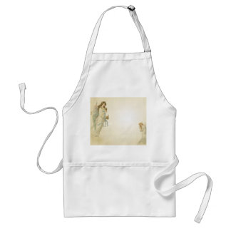 Angel with Bell Standard Apron