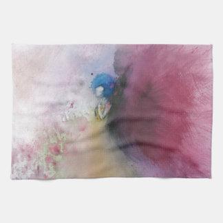 Angel with Blue Hair Hand Towel