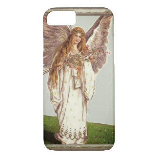 Angel With Flowers iPhone 8/7 Case