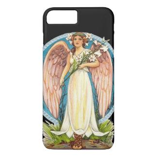 Angel with Flowers Spiritual Retro iPhone 7 Plus Case