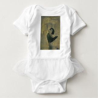 Angel with Harp Baby Bodysuit