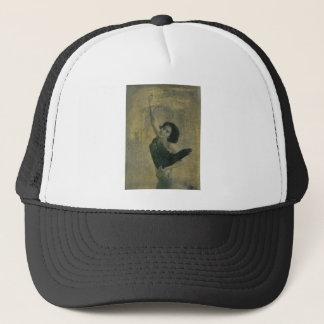 Angel with Harp Trucker Hat