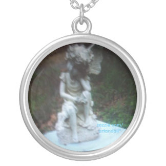 """""""ANGEL WITH ONE WING"""" PENDANT NECKLACE"""