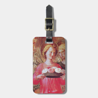 ANGEL WITH ROSES LUGGAGE TAG