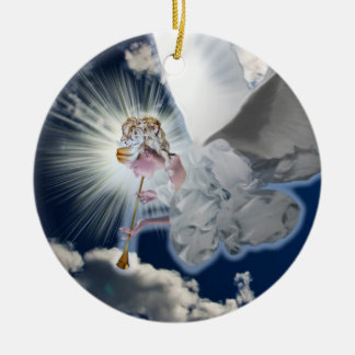 Angel with Trumpet  Ornament