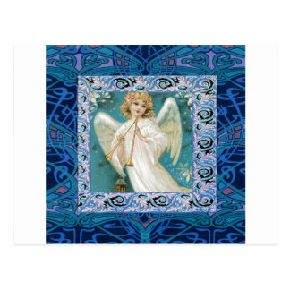 Angel with Trumpet Postcard