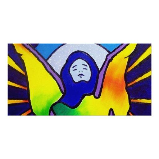 Angel Within Custom Photo Card