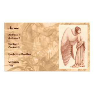 Angel Woman Business Card Templates