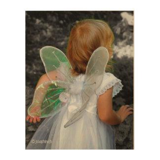"""Angel"" - Wood Wall Art - jjhelene design"